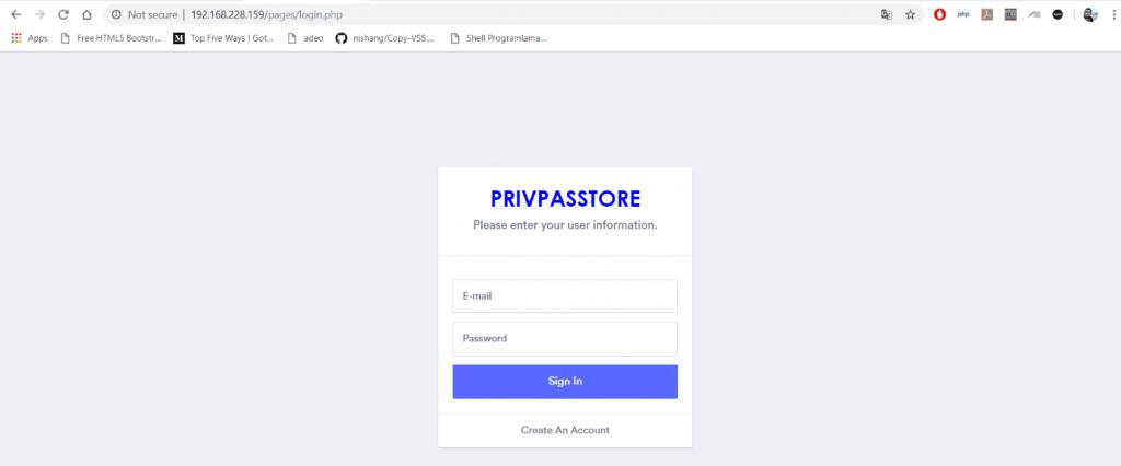 Image 2 – Web Application