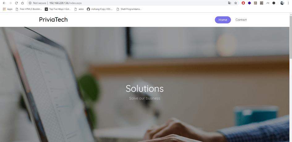"PriviaHub ""PriviaTech"" Machine Solution"