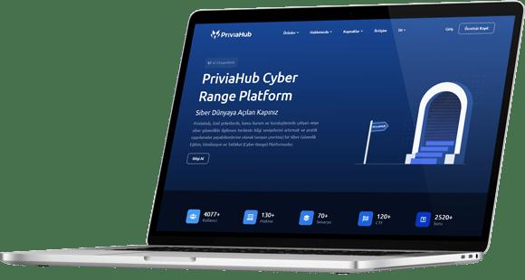 PriviaHub Cyber Range Platform