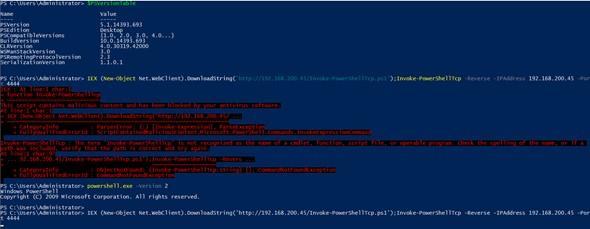 Powershell 2.0 Antivirus Bypass