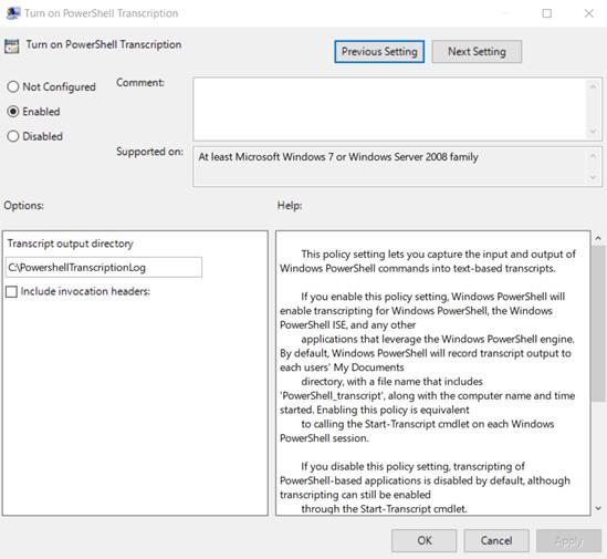 Transcription Logging